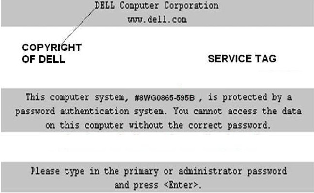 Dell Master Password For Bios & HDD (100% works)