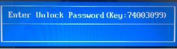Remove HP Bios Password